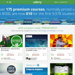 Get in QUICK! $10 for Any PREMIUM UDEMY Courses (Normally $500)
