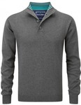 Charles Wilson 100% Cotton Button Neck Jumper $14.95 + FREE SHIPPING WITH CODE