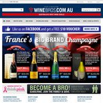 Winebros - Mister Big Mouth Wines $39.99 Per Dozen including FREE DELIVERY. Save up to 74% off