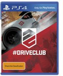 DriveClub PS4 (Pre-Order) $59.98 Delivered @ Dick Smith