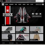 $10 off $50+ Spend, Free Shipping @ DC Shoes, Roxy and Quiksilver