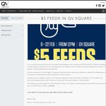 [QV Melb] $5 Feeds from 12pm 9th-22nd February for First 200 Customers Each Day