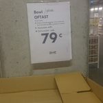 White Bowl/ Plate 15cm $0.79 @ Ikea Springvale VIC