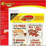 ACT - Kingsley's Chicken - 9 Piece for $9.95 on Tuesday. and Other Deals