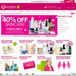 40% off Skincare at Priceline (Excludes Ego Brands, Suncare and Tanning) for 2 Days Only