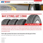 GT Radial Tyres Buy 3 Get 1 Free - Frequent Choice Recommended
