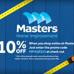 10% off Masters Online with hipages.com.au