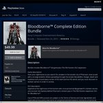 Bloodborne Complete Edition Bundle for US $44.99 (AU $62) on US PSN with Code