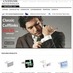 70% off All Cufflinks NO Gift Tin - CA Closing down (+Free Delivery > $50)