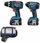 Bosch Blue Professional 18V Li Ion Drill & Impact Driver Plus Bag for $269 @ Masters