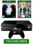 1TB Xbox One Elite with Halo 5 & The Division (Download Token) $478 @ EB Games