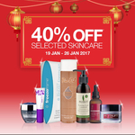 Priceline 40% off Selected Skincare (19/1 - 26/1)