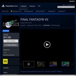 [PS4] Final Fantasy VII - $11.95 (Save $12) @ PSN