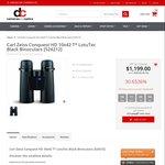 Zeiss Conquest HD 10x42 T* LotuTec Binoculars $1199 + Free Shipping @ DC Cameras