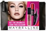 """Priceline - Maybelline """"Go Dramatic!"""" Gift Bag $5 / Maybelline The Baby Lips Collection 3 Pack $2 + More (Online Only)"""