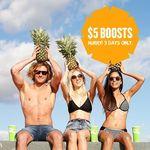 Boost Juice - All Medium Drinks $5 (+ $1 upsize) [WA Only]