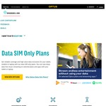 100GB Mobile Broadband on Optus Month to Month $70 Per Month