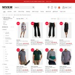 Take an Extra 50% off Selected Mens, Women's & Miss Shop Clearance Lines @ Myer - Today Only (Discount Applies in Cart)