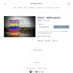 3 Packs of Soy Melts - $10 + Postage From $8.50 @ Bombscents