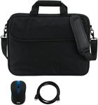 GVA Entry Notebook Bundle (Laptop Bag + Wireless Mouse + HDMI Cable) - $9.80 (C&C) @ The Good Guys