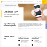 Commonwealth Bank - Get $20 Back after The First 3 Times You Tap and Pay with Android Pay or The CBA App [Android Only]