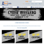 Cyber Weekend @ Boxlots.com.au up to 50% off across Store (Minimum 10% off Everything)