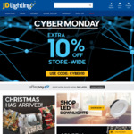 Extra 10% OFF Store-Wide @ JD Lighting