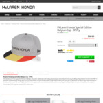 McLaren F1 Team Merchandise (70% off, E.g. McHonda Special Edition Cap $12.90 (Was $45) ) + with Free Shipping over ~ $110