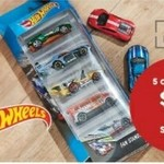 Hot Wheels Assorted Diecast Cars 5 for $5 @ Target