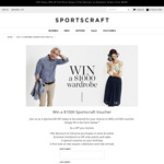 Win 1 of 8 $1,000 Gift Cards from Sportscraft