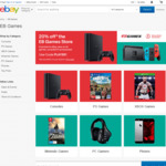 20% off Storewide @ EB Games eBay (E.G Nintendo Switch $380.15, Xbox One X $524.91 Delivered)