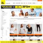 Jay Jays 25% off Full Priced Items + Free Standard Delivery (w/ No Min Spend)