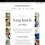 Win a Mother's Day Culinary Experience Worth Over $1,500 from Sportscraft