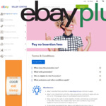 4 Days Only: Unlimited Insertion Fee Free Listings @ eBay