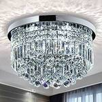 Saint Mossi Modern K9 Crystal Raindrop Chandelier Lighting $15.00 (FREE Delivery for Prime Members) 95% off RRP @ Amazon AU