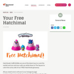 [NSW] Free Hatchimals CollEGGtible Toy Worth $5 from Warriewood Square Shopping Centre  [First 1,000]