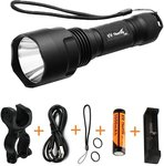 ThorFire C8s Flashlight with Accessories $27.99 Shipped @ Amazon