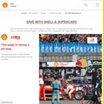 10c Per Litre Discount - Shell/Coles Express