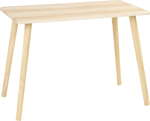 Kodu Scandi Coffee Table - Light Oak Look $15 (Was $29), House & Home Bamboo Shelf with Laundry Hamper $25 (Was $49) @ Big W