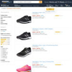 New Balance URGE Men/Women Sneakers Selected Sizes $36 + Delivery (Free with Prime/ $49 Spend) @ Amazon AU