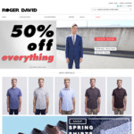 Roger David - 50%+ off Everything (Free C&C or $10 Shipping < $75 Order)