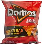 Doritos Cheese Supreme Corn Chips, 6x 330g $13.50 (Was $30) & 8x 300g Salsa $15 + Delivery (Free with Prime/ $49+) @ Amazon AU