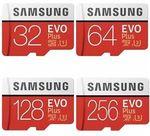 Samsung 64GB Evo+ Micro SD Card SDXC Class 10 100MB/s $18.40 Delivered @ Futu Online eBay