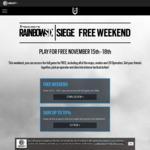 [PC, PS4, XB1] Free to Play: Tom Clancy's Rainbow Six Siege (15th - 20th Nov) @ Ubisoft