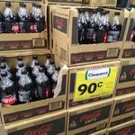 [NSW] Coke Zero 1.25L $0.90 (Was $3) @ Woolworths, Blacktown Westpoint
