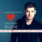 Win 1 of 6 Michael Bublé Valentine's Day Prize Packs Worth $107.50 from Warner Music