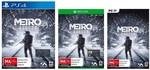 [Pre-Order] [PS4, XB1, PC] Metro Exodus $66, Anthem $64,  [XB1] Crackdown 3 $66 @ Harvey Norman