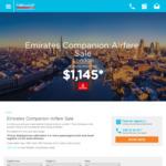 London from Melbourne $1145, Sydney $1175, Brisbane $1165, Perth $1145 Return (Min. 2 Pax) @ Emirate Airlines via Helloworld