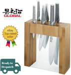 Global Ikasu 7 Piece Japanese Knives Bamboo Block Set $272.70 Delivered @ Value Village eBay