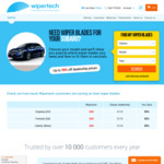Wipertech Aeroflex Wiper Blades for Subaru Cars (Front Pair) $25 Delivered - Wipertech.com.au